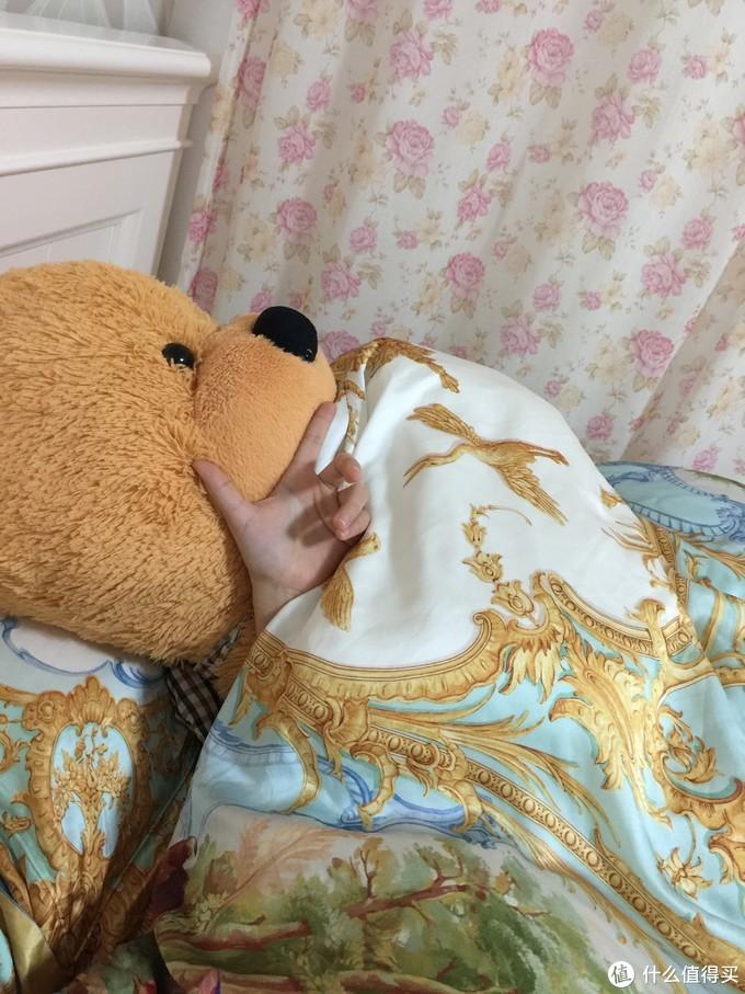 带着我的熊熊一起睡