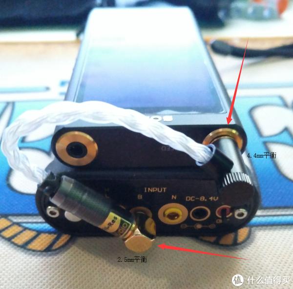 300A输出4.4mm平衡到pa3s2.5平衡