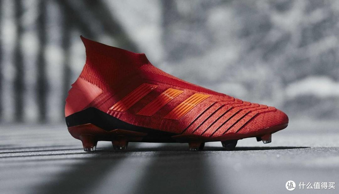 冬天里的一把火:adidas 阿迪达斯 推出 全新一代 Predator 19+FG AG 足球鞋