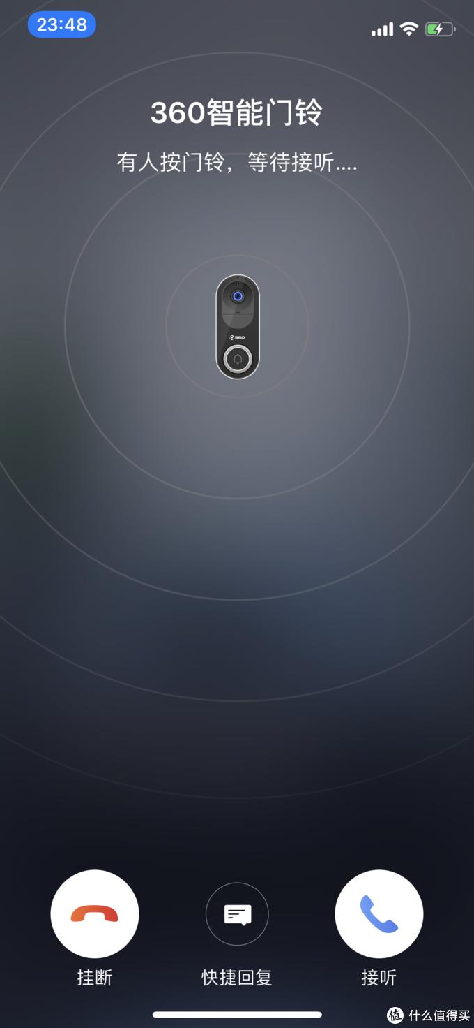 咦,隔壁老王来敲门?绝不开门——360智能可视门铃测评