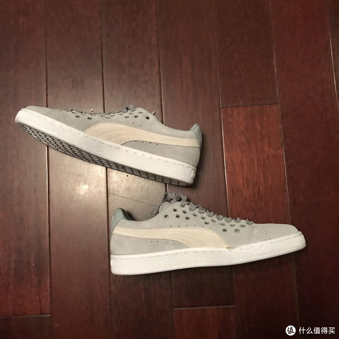 PUMA SUEDE XL Lace休闲鞋