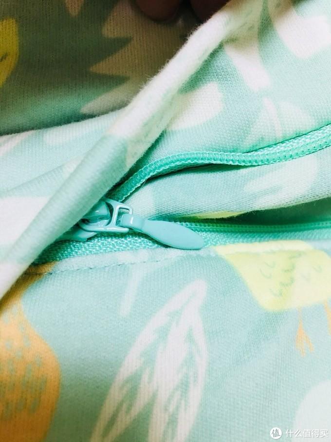 宝宝爱踢被 穿它睡暖觉—米乐鱼厚夹棉睡袋晒单