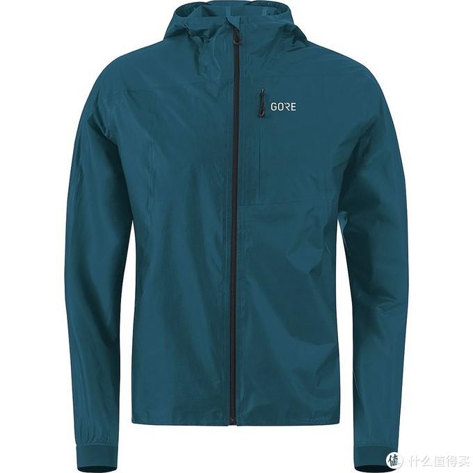 附有胸袋的越野跑夹克,Gore Wear R7 Shakedry Jacket(网络来源于网络)