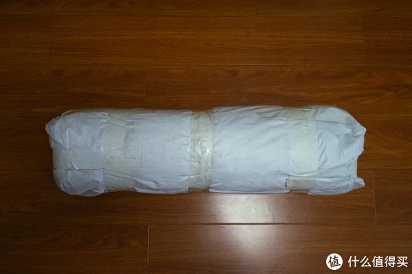 隔热棉外包的袋子,展开了可以临时作为垫子使用