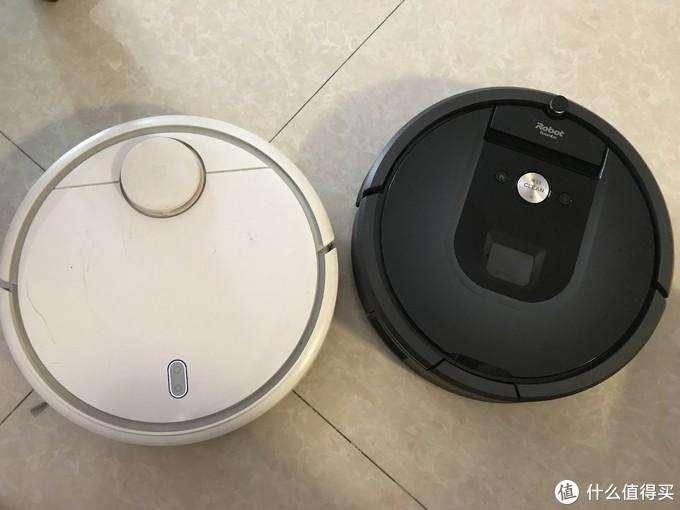 米家机器人和Roomba970