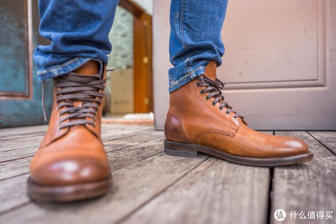 美式风范—Frye Will Lace Up Combat 皮靴测评