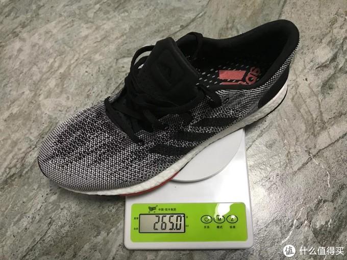 单鞋重量265g,好评!