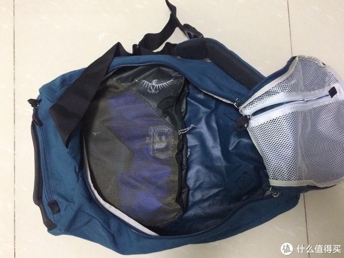 30L的包可以都装进去吗?9L收纳袋把衣服等装备放进去刚好占了一半的空间。