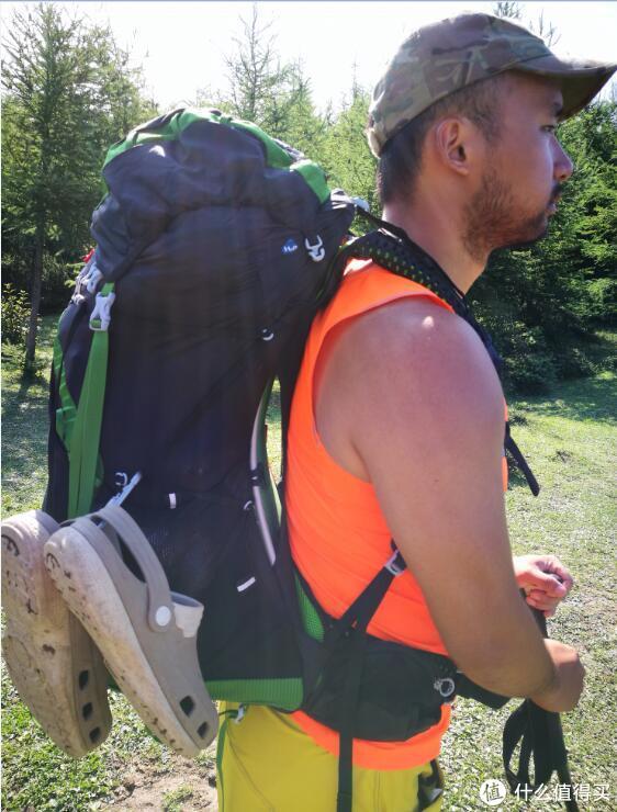 OSPREY新老两代轻量背包  对比