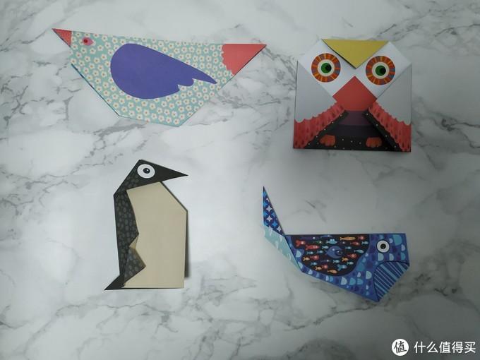 小鸟、猫头鹰、企鹅、鲸