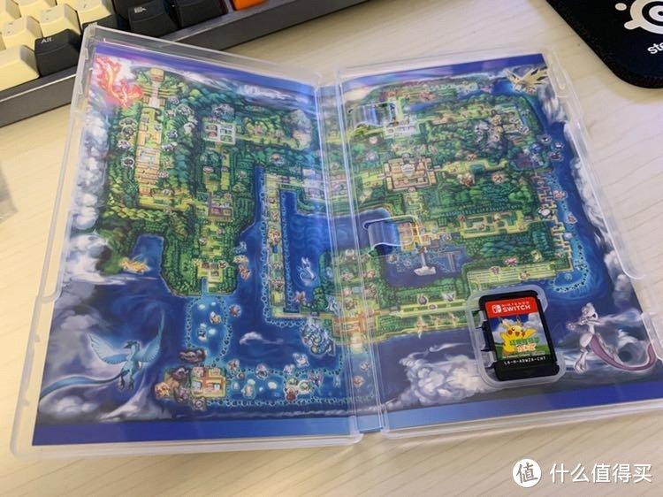 没有什么小册子,背景是本作的地图