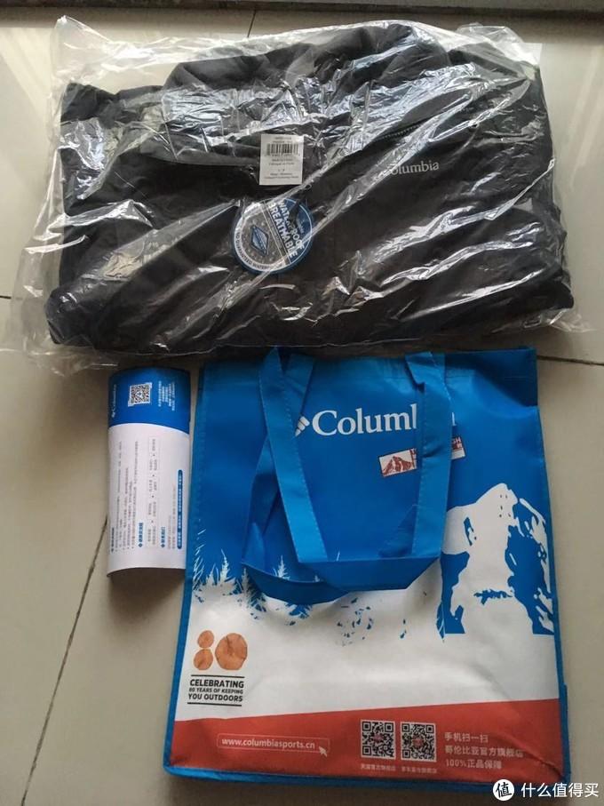Columbia 哥伦比亚 三合一PM1806 冲锋衣轻测