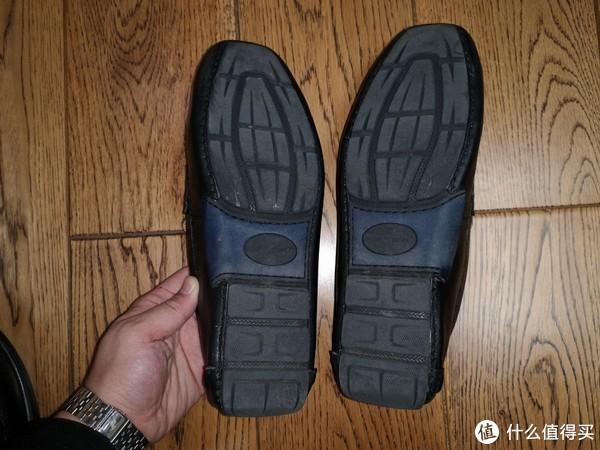 实惠价晒单:健乐士 GEOX 一脚蹬 软面平底皮鞋