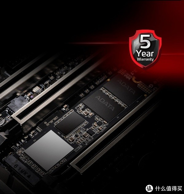 3.5G/s读取、5年质保:ADATA 威刚 发布 XPG SX8200 Pro 旗舰SSD