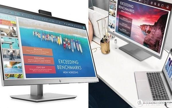 可弹出式摄像头、USB-C一线方案:HP 惠普 发布 EliteDisplay E243d Docking Monitor 显示器