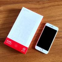 第一卫 苹果6/7/8 抗蓝光防指纹钢化膜开箱总结(包装|效果|优点|缺点)
