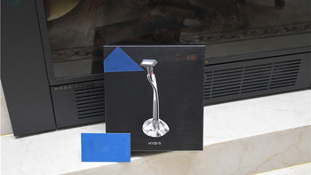 焕醒H100-5剃须刀外观展示(包装|刀片|手柄|刀头)