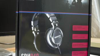 舒尔SRH940 头戴耳机购买过程(品牌|包装|接口|头梁)