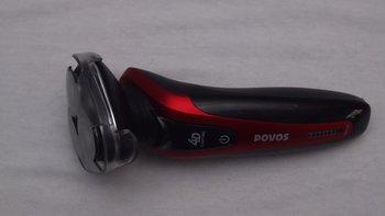 奔腾 PQ8608 剃须刀开箱展示(刀头|机身|接口|按钮|充电器)