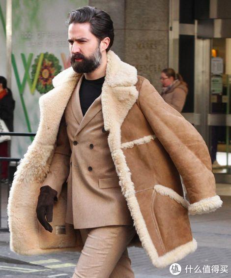 保暖不臃肿,快时尚男士皮毛一体夹克推荐榜