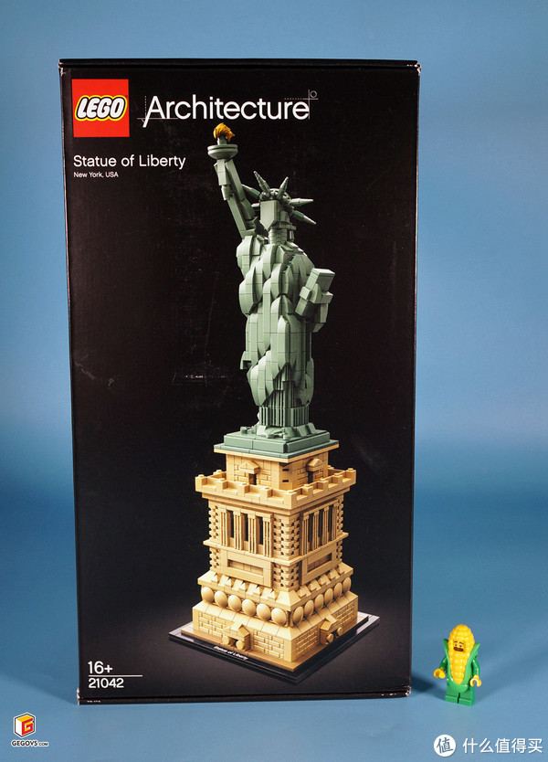LEGO 21042 Statue of Liberty (自由女神像)开箱报告