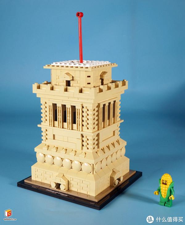 LEGO 21042 Statue of Liberty (自由女神像)开箱报告