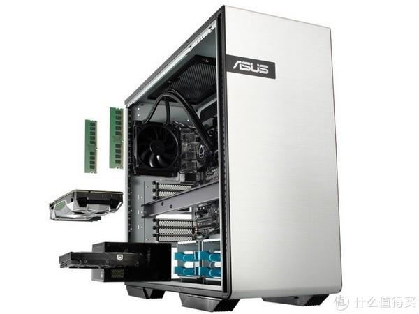 搭Xeon-W处理器+RTX 2080独显:ASUS 华硕 发布 Gaming Station GS50 游戏工作站