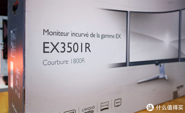 明基 EX3501R 品名及预览图