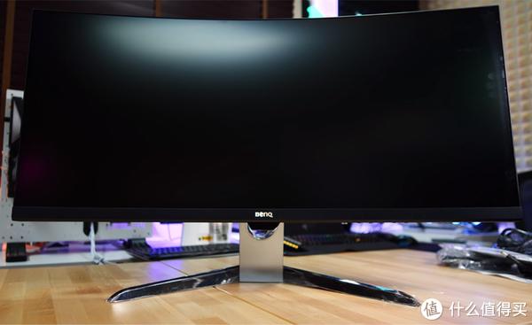 明基 EX3501R 曲面显示器 正面