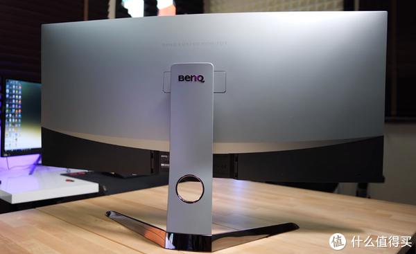 明基 EX3501R 曲面显示器 反面