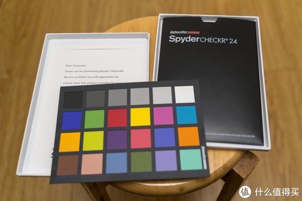 摄影师的好工具 校准色彩:Datacolor spydercheckr24 色卡 体验测评