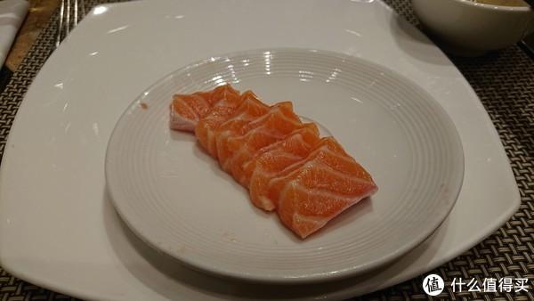 三文鱼可以要现切的,品质会好一点