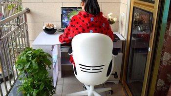 黑白调 HDNY145 蛋壳电脑椅购买理由(尺寸 透气 价格 回弹)