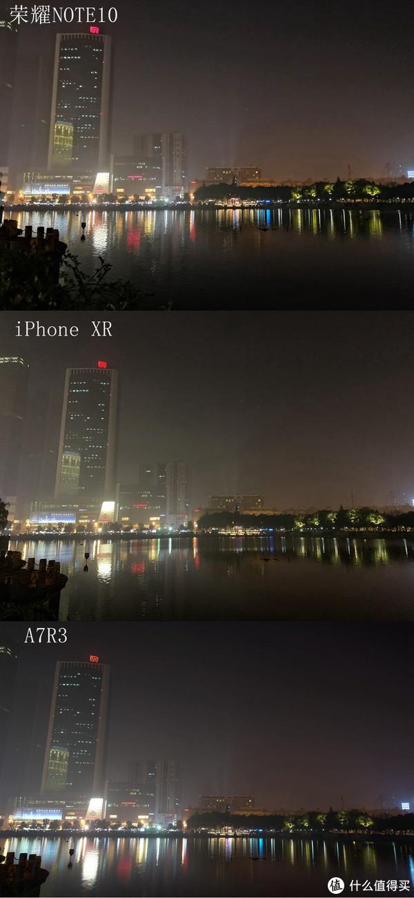 超级城市夜景到底香不香,荣耀Note10与iPhone XR夜拍样张对比