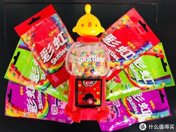买椟还珠当代版—彩虹糖迷你豆机&星爆逗趣抓糖机
