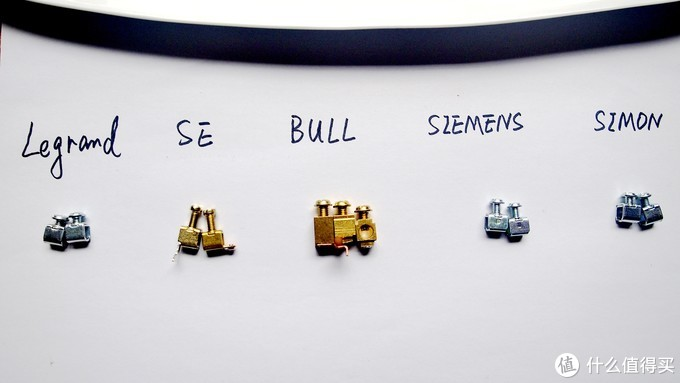 无边框开关插座实力拆解评测:罗格朗、施耐德、西门子、西蒙和公牛