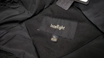 图书馆猿のINTERIGHT系列羽绒服使用总结(拉链|造型|优点|不足)