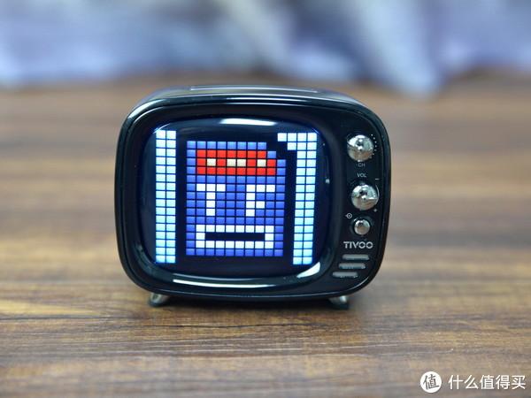 音箱结合LED,玩法更有趣,Divoom TIVOO像素电视蓝牙音箱