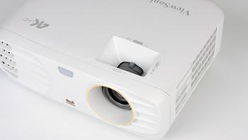 优派PX727-4K 投影机使用体验(拨轮|焦距|散热|操作|接收器)