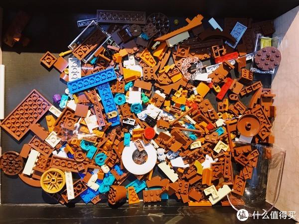 圣诞礼物推荐:LEGO 乐高 Ideas 系列拼插类玩具 典藏瓶中船 21313