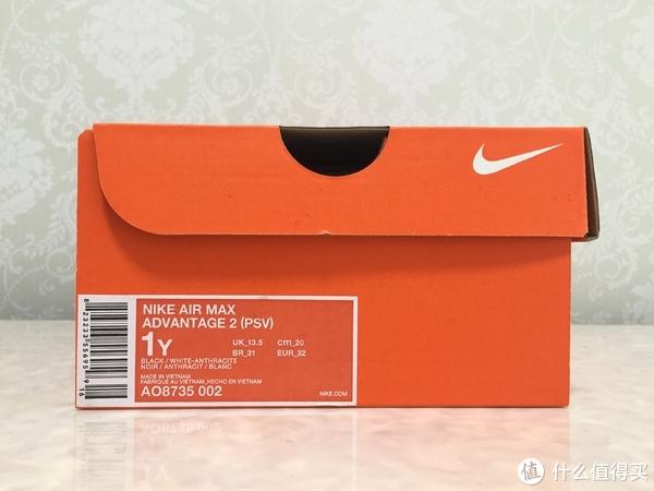 熊孩子的第一双气垫鞋!耐克NIKE AIR MAX ADVANTAGE2 (PSV)儿童运动鞋开箱