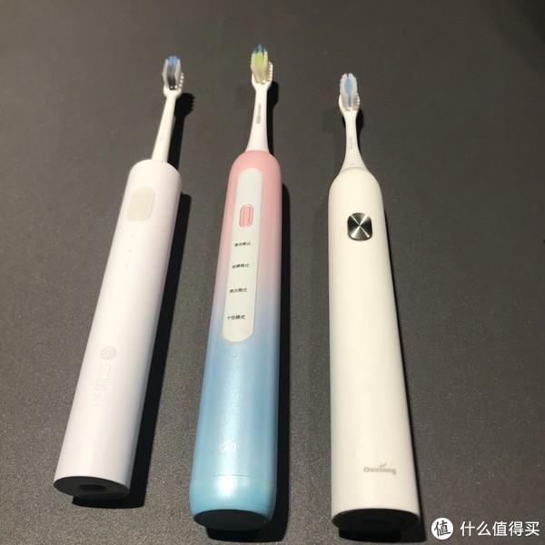 贝医生VS力博得VS欧享 这些张大妈上众测过的国产电动牙刷 谁更值得买