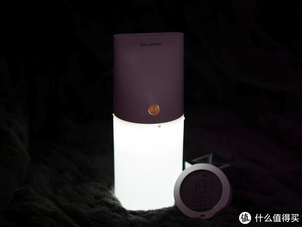 给妳补点水,照亮你的美!GUILDFORD夜灯型桌面加湿器上手测评