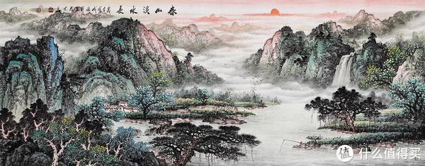 客厅墙上适合什么装饰画 凸显房主品味的山水画