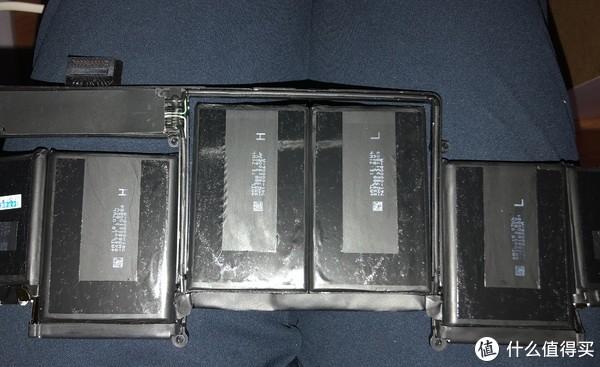 电池背面是U形双面胶