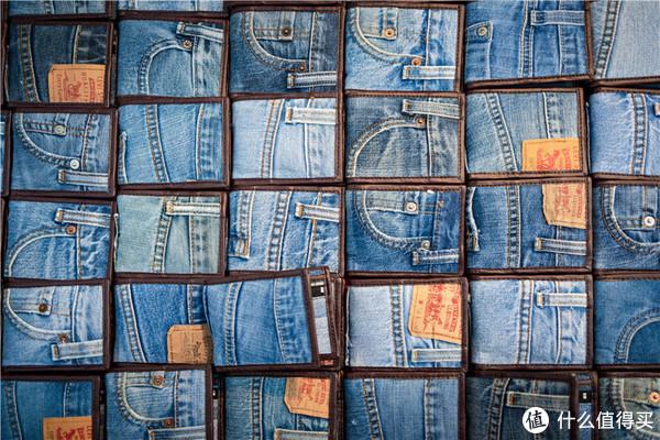 旧牛仔裤做的钱包,很环保
