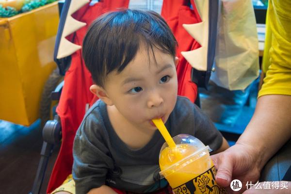 芒果汁好好喝呦
