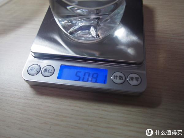 瓶加水,508.1克。508.1+49.1=557.2,棒!