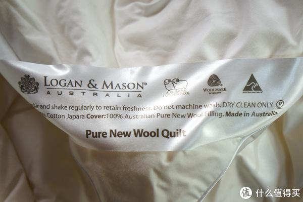 不开暖气越冬大作战之二:柔如云朵暖如春 ~ 澳洲制造LOGAN & MASON纯新羊毛冬被体验
