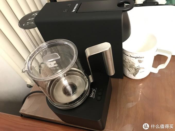 这是咖啡机和奶泡机在一起